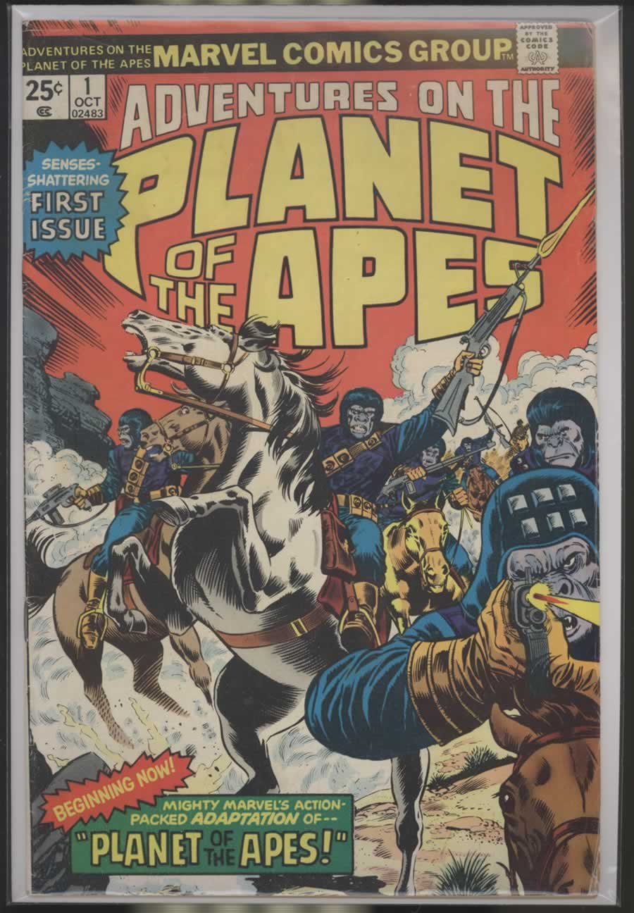ADVENTURES ON THE PLANET OF THE APES