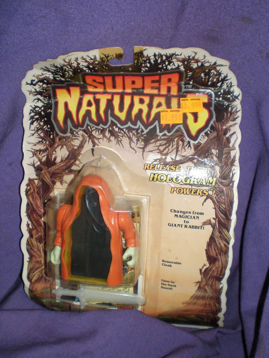 1986 SUPER NATURALS MR. LUCKY HEROIC GHOSTLING