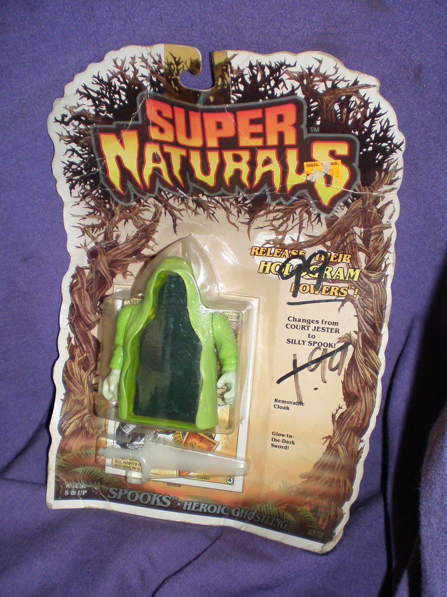 1986 SUPER NATURALS SPOOKS HEROIC GHOSTLING