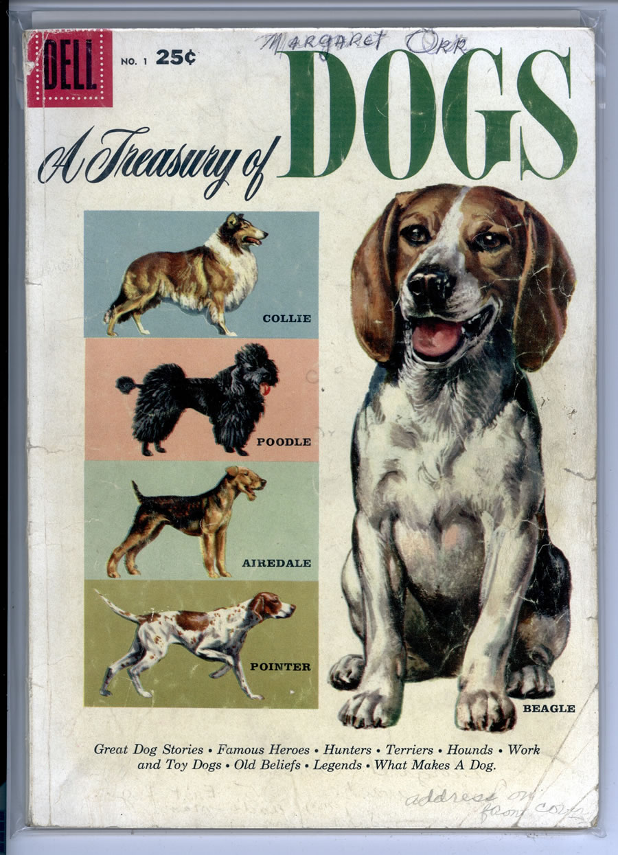 A TREASURY OF DOGS