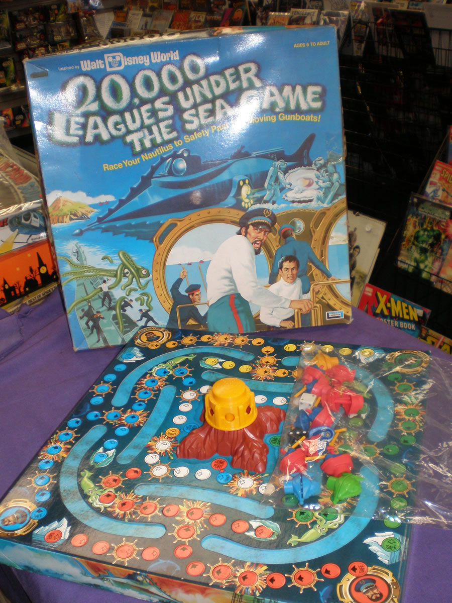 1975 20,000 LEAGUES UNDER THE SEA GAME
