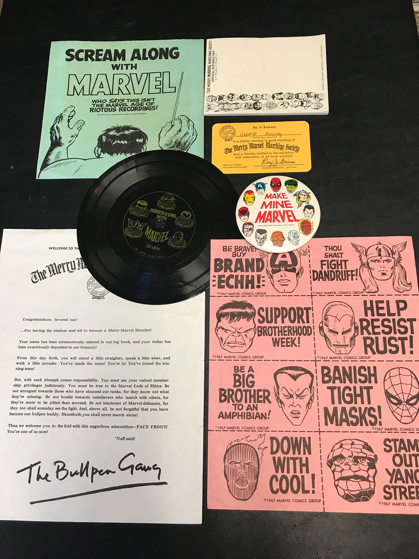 1967 MERRY MARVEL MARCHING SOCIETY