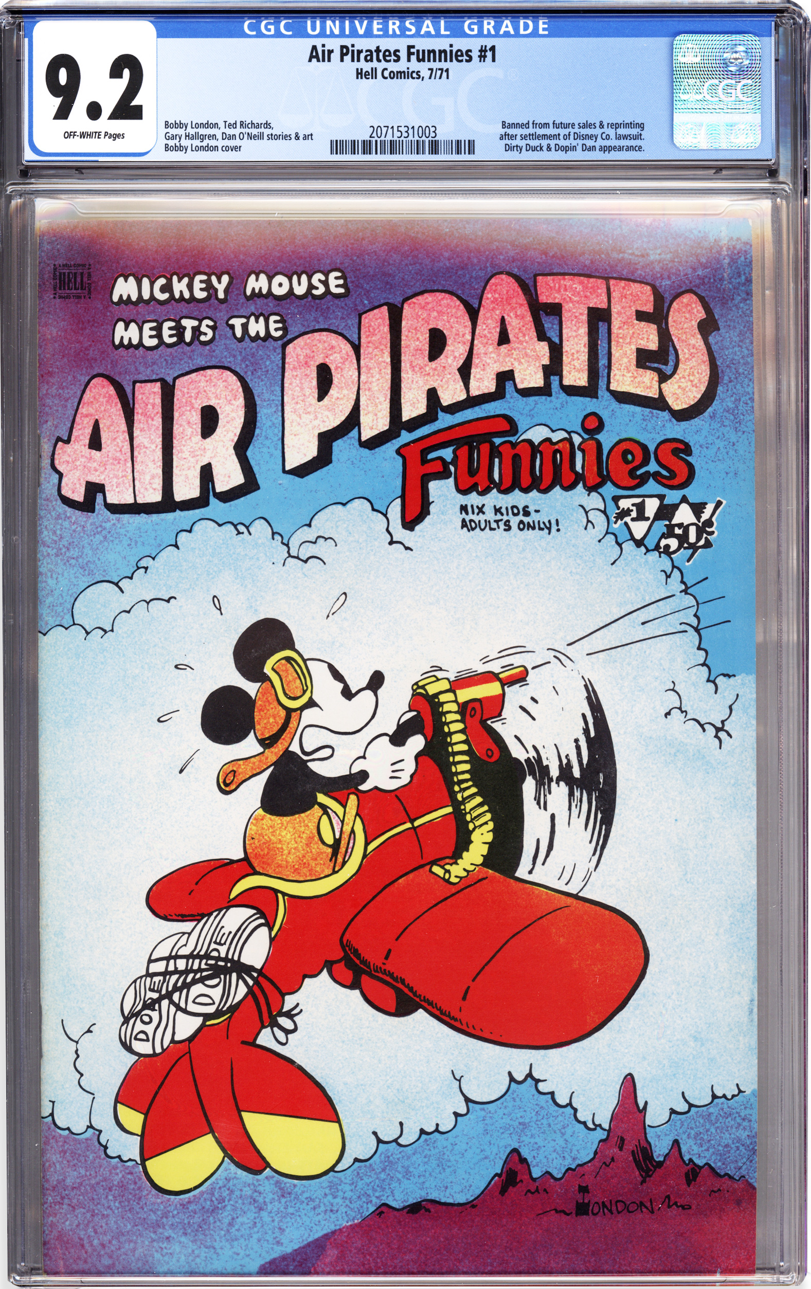 AIR PIRATES FUNNIES