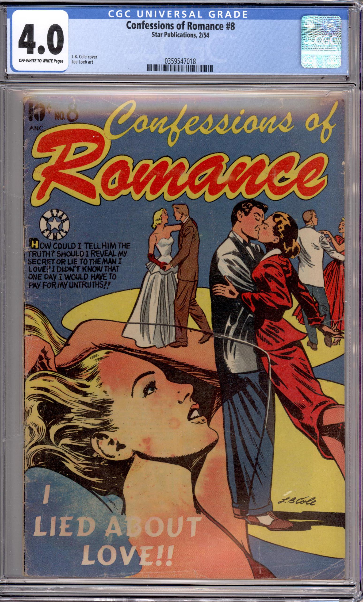 CONFESSIONS OF ROMANCE