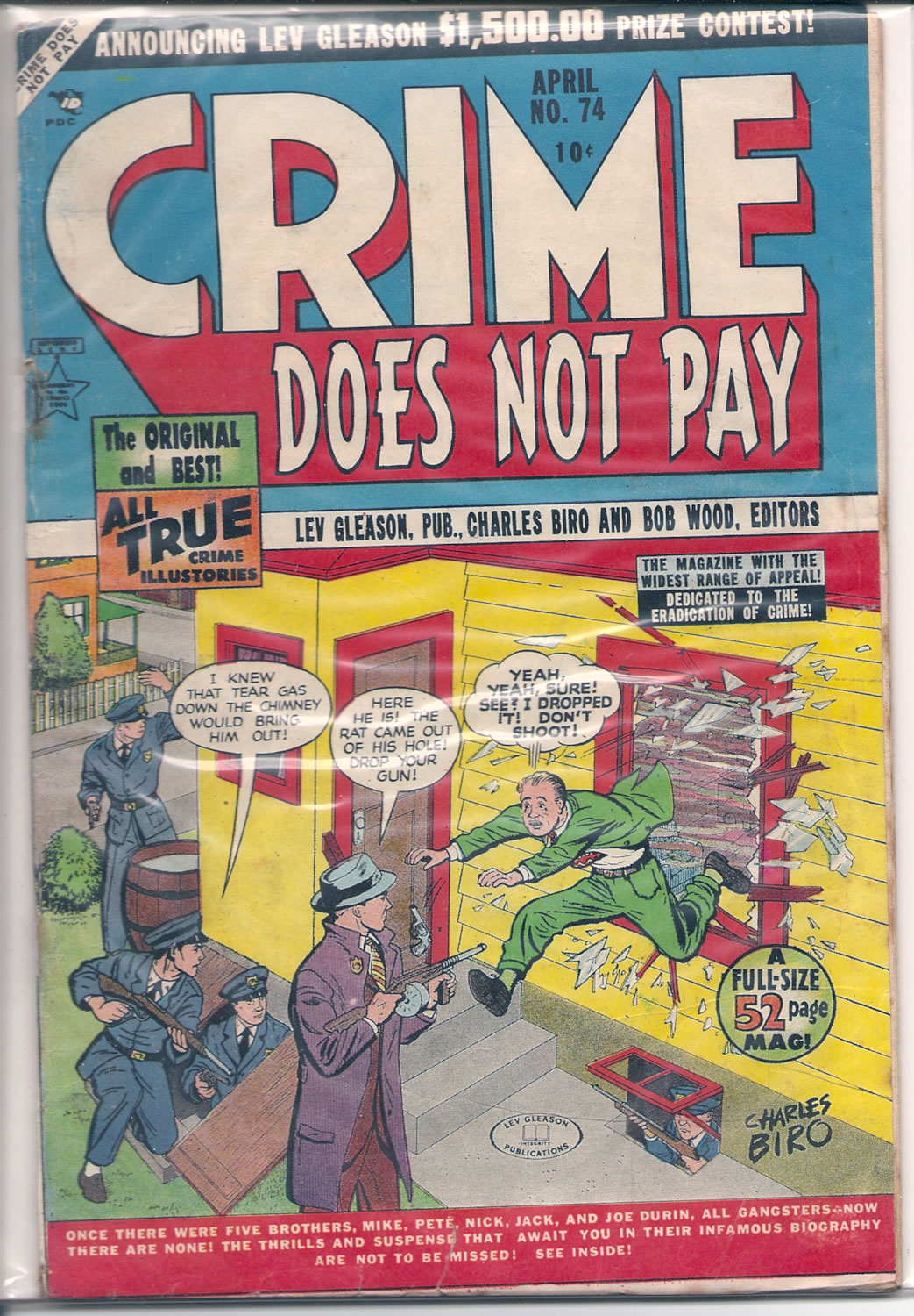 CRIME DOES NOT PAY